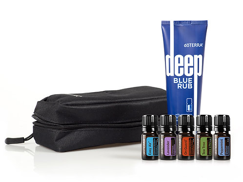doTERRA Essential Oils Athletes Collection and Muscle Rub