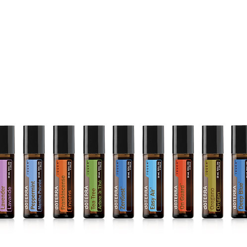 doTERRA Touch Collection Kit 9, 10ml Rollers