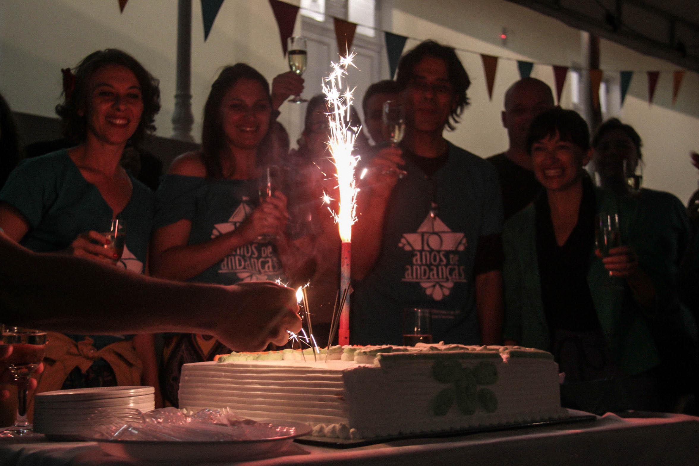 Cia Andante — 10 Anos de Andança