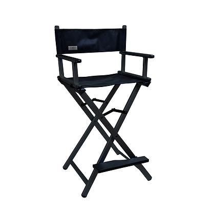 Cadeira profissional para maquiagem preta