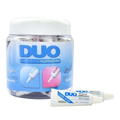 Pote Cola Duo Transparente com 50 unidades