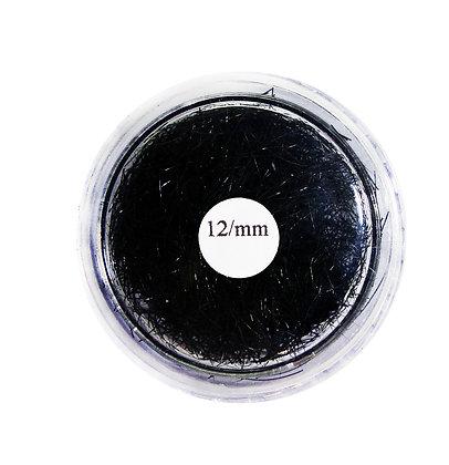 Cílios Profissionais Fio a Fio 12mm