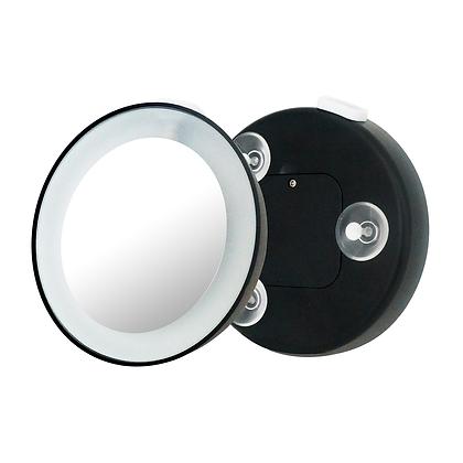 Espelho de aumento 15x com ventosa