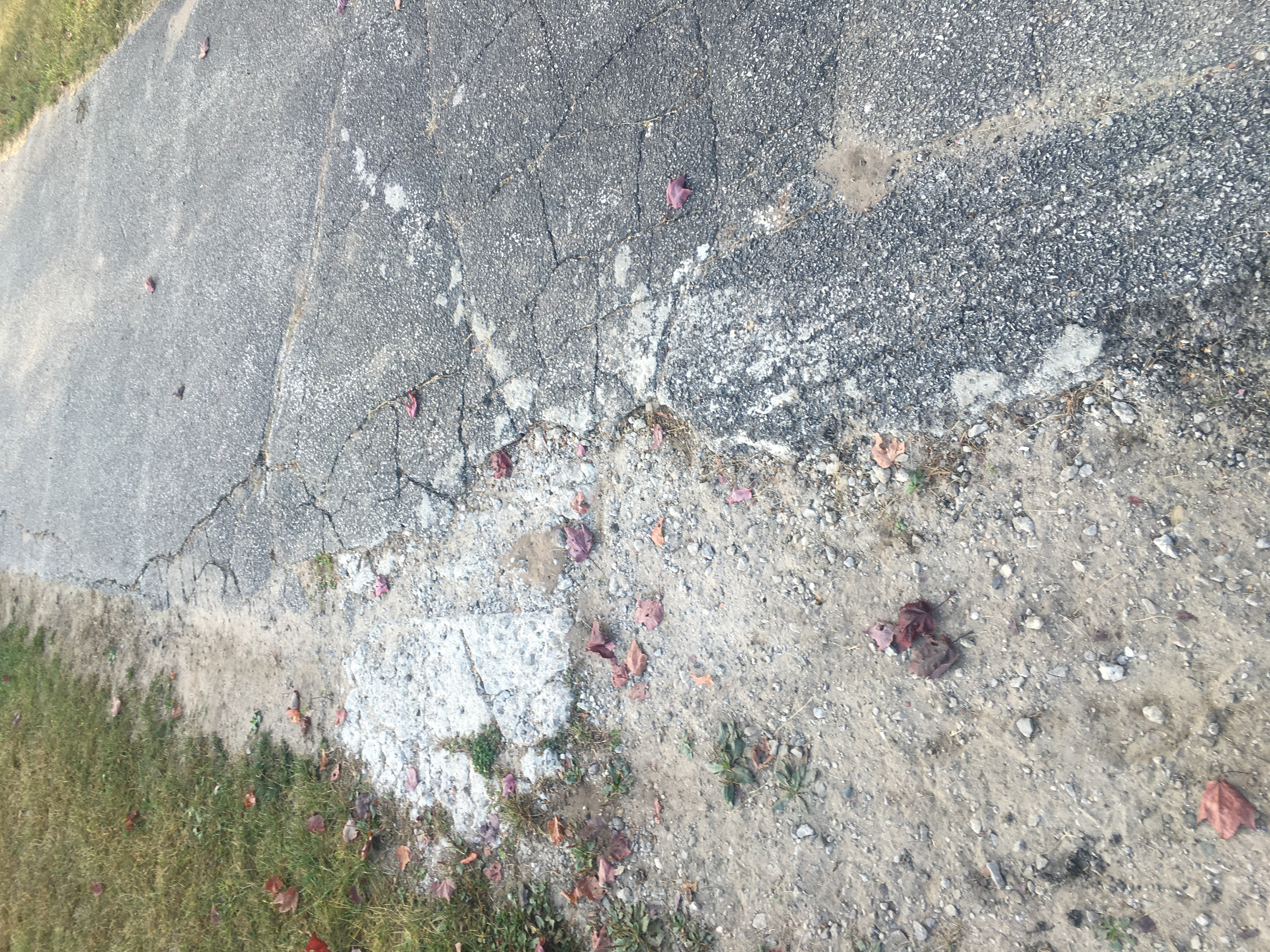 Crumbling Asphalt