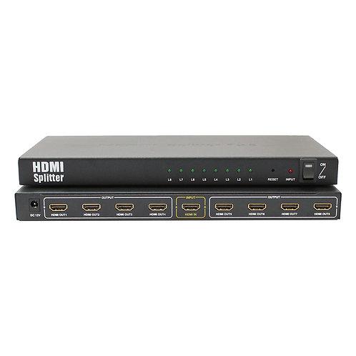 Splitter HDMI 4K2K 8 portas / ASKSP14008M