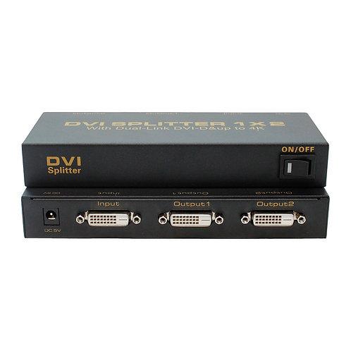 Splitter DVI D Dual Link 2 portas / ASK-DVISP0002M1