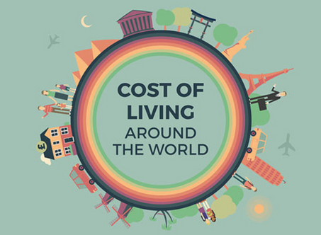 The cost of living around the world compared in one amazing infographic