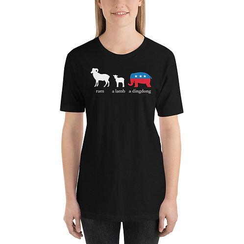 Ramalambadingdong Funny Anti Republican T-Shirt