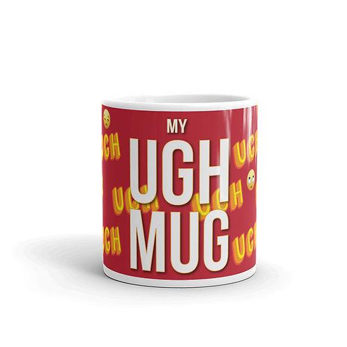 The Ugh Mug Front View