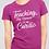 Teaching Tiny Humans Is My Cardio Funny Teacher Unisex T-Shirt