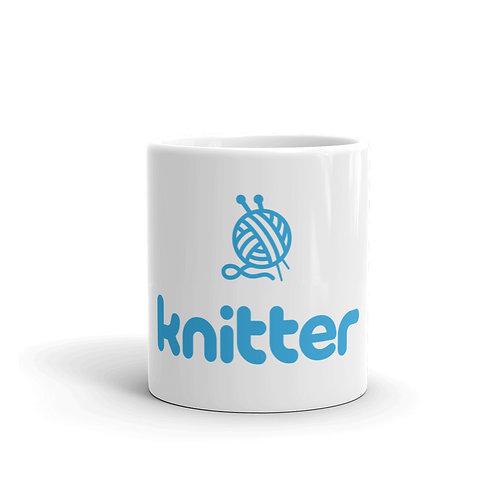 Knitter. Fun Knitting Mug