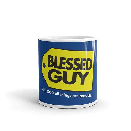 Blessed Guy Fun Parody Christian Mug