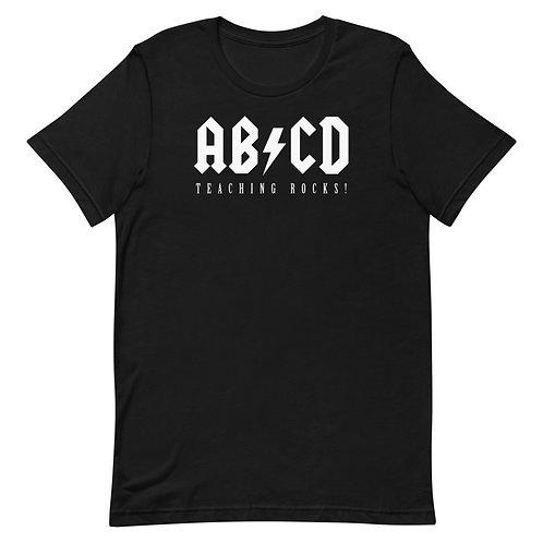 ABCD Teaching Rocks Funny Teacher T-Shirt