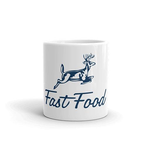 Fast Food Funny Deer Hunting Mug