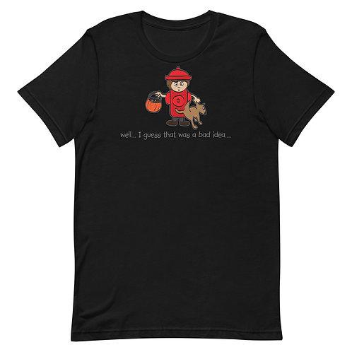 Bad Idea Funny Halloween T-Shirt