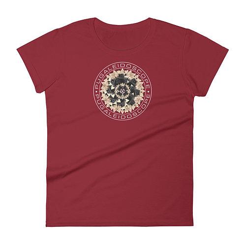 Pugaleidoscope Fun Pug Women's T-shirt