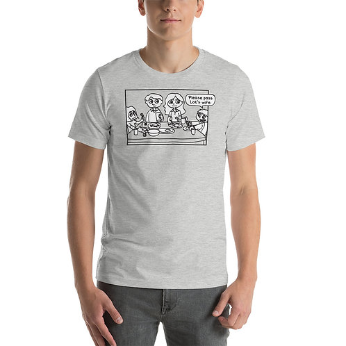 Please Pass Lot's Wife. Funny Christian Bible T-Shirt