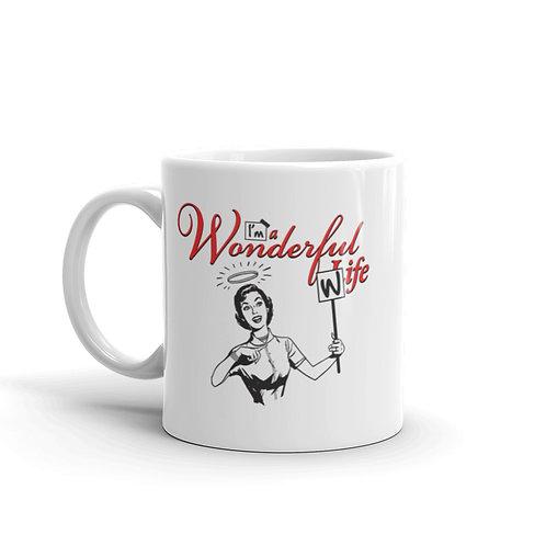 I'm a Wonderful Wife Funny Parody Mug