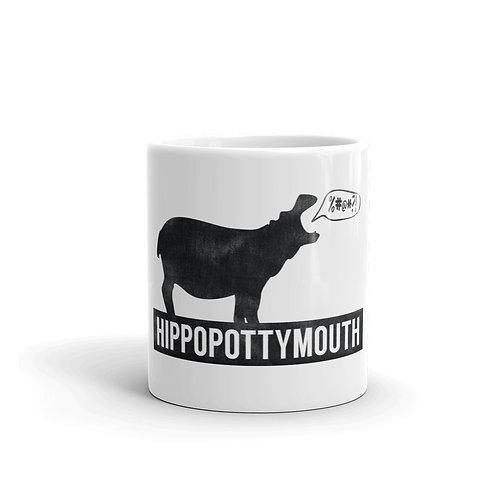Hippopottymouth Funny Hippo Mug