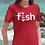 Fish. Funny Fishing Logo Parody T-Shirt