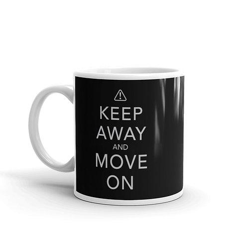 Keep Away and Move On Funny Introvert Mug