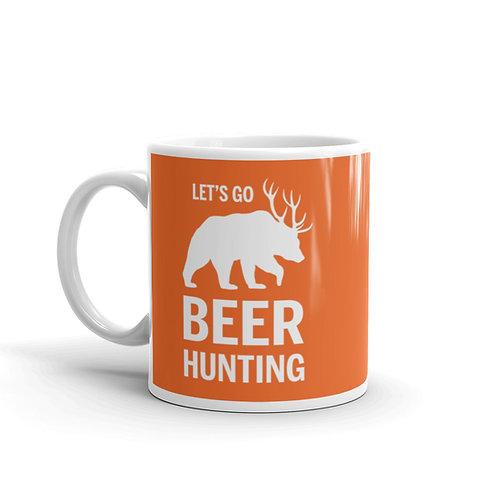 Let's Go Beer Hunting Funny Mug