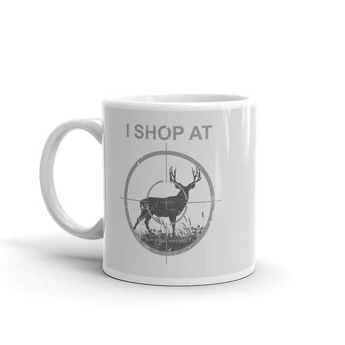 I Shop At Target. Hunt More. Work Less. Funny Hunting Mug