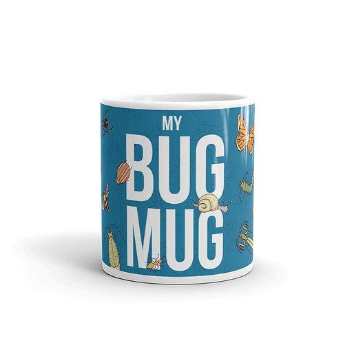 Cute Bug Mug Front View