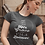 And then I saw His grace, now I'm a believer. Fun Christian Women's T-shirt