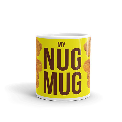 Fun Nug Mug Front View with Chicken Nuggets