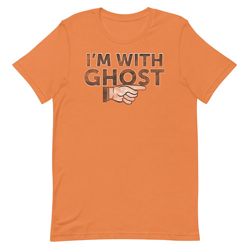 I'm With Ghost Funny Halloween T-Shirt