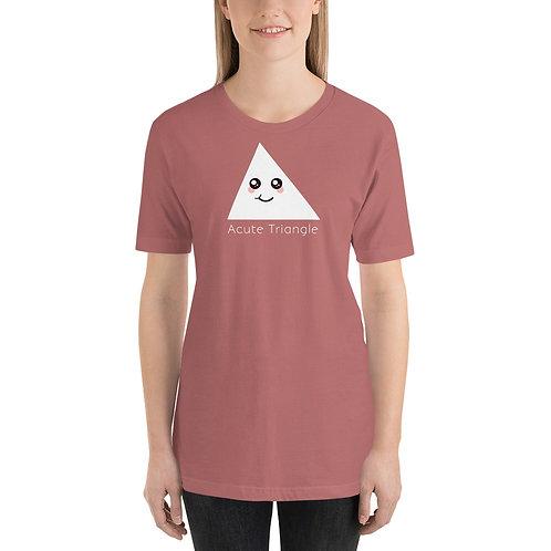 Acute Triangle Funny Math Unisex T-Shirt