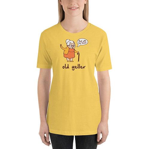 Old Yeller Cartoon Funny T-Shirt