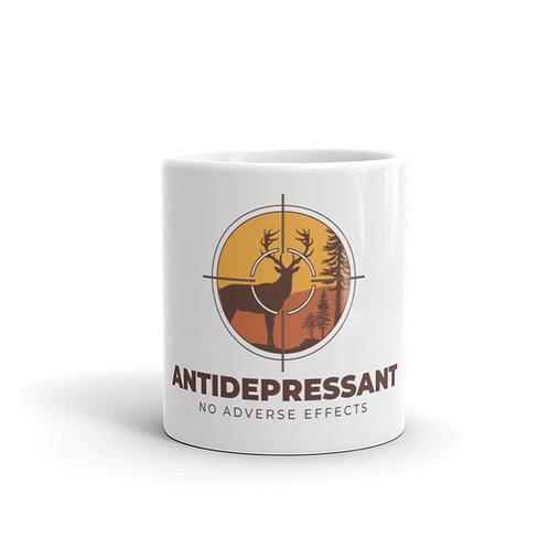 Antidepressant No Adverse Effects Funny Hunting Mug