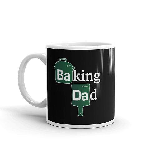 Baking Dad Funny Parody Mug