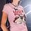 The Love Pug. Funny Pug T-Shirt
