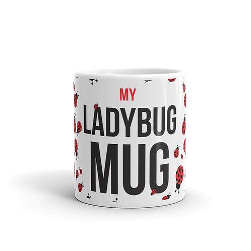Fun Ladybug Mug Front View