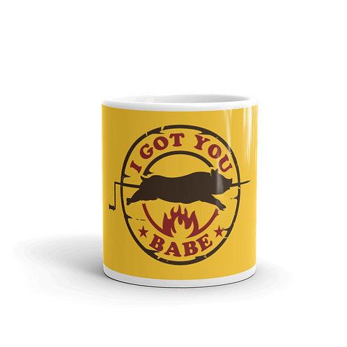 I Got You Babe Funny BBQ Mug