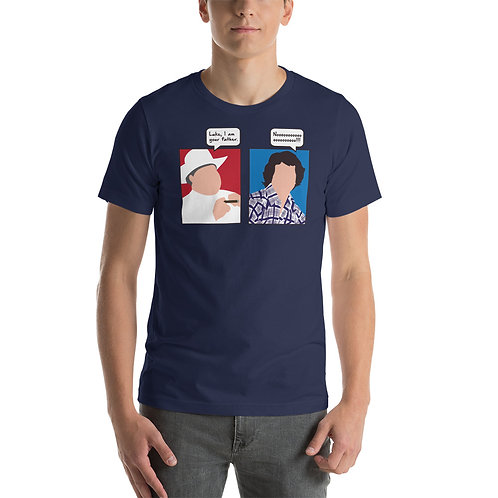 Luke I am your father. Noooooo!!!! Funny Pop Culture T-Shirt