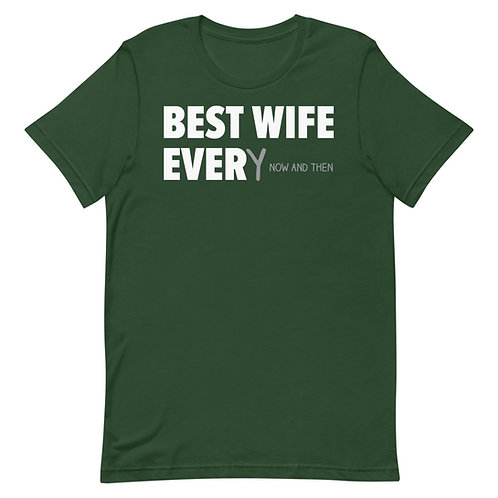 Best Wife Every Now And Then Funny T-Shirt
