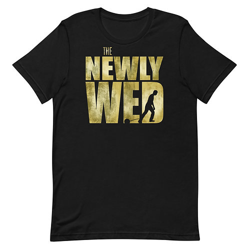 The Newly Wed funny parody t-shirt of The Walking Dead.