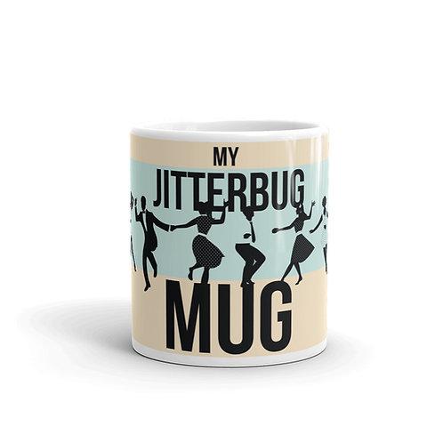 Fun Jitterbug Mug Front View with Swing Dancing
