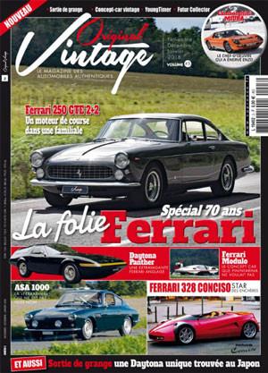 magazine de voitures Original Vintage
