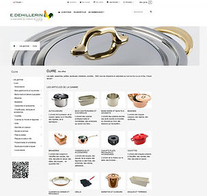 Boutique en ligne E.Dehillerin