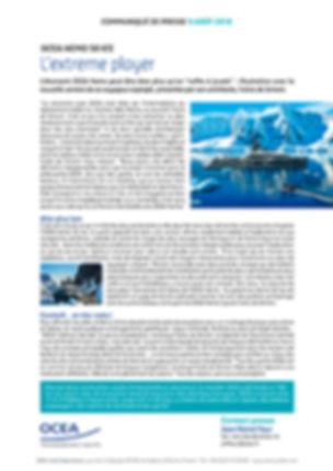 ocea yachts communiqué de presse ocea nemo ice