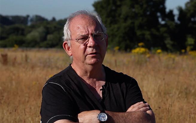 Claude Figureau, expert en biodiversité urbaine