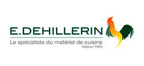 Logo du site E.Dehillerin, boutique en lign, client d'Édito