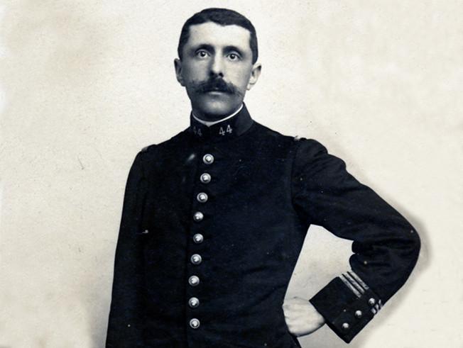 Colonel Alexis Lamouche, membre de la Société géologique de France