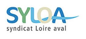 Logo du Syloa, syndicat Loire Aval, client de l'agence Édito