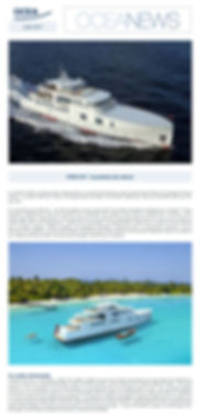 Newsletter Oceanews d'Ocea Yachts